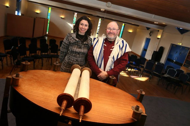 Synagogue celebrates 50 years in the city